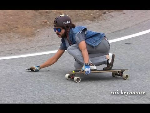 Longboarder Crashes into Guardrail 6/04/11