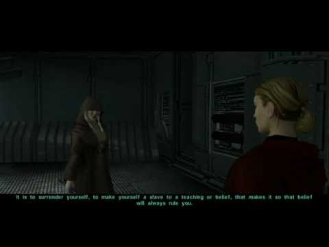 KotOR 2 - The Exile & Kreia Discuss the Lesson of Strength from Hanharr