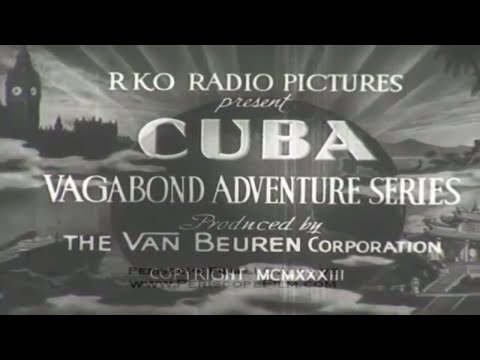 1933 HAVANA CUBA TRAVELOGUE 3487