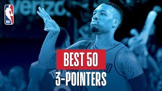 Best 50 Three Pointers: 2018 NBA Season