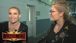 "Why tonight is a ""dream come true"" for Natalya & Beth Phoenix: WWE Exclusive, April 7, 2019"