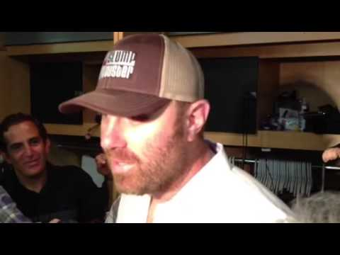 Adam Dunn on pitching to Texas Rangers
