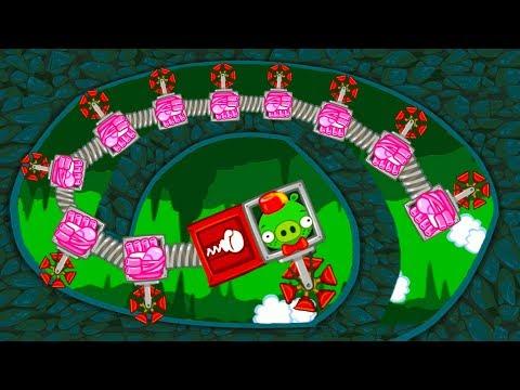 МАШИНКИ Bad Piggies #12 мультик игра как Хот вилс Hot Wheels про тачки. Собираем новую машинку #МК