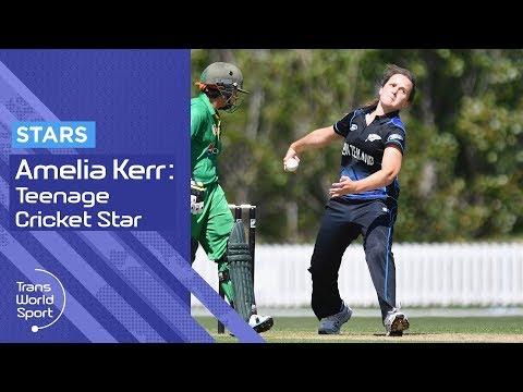 Amelia Kerr | Rising Cricket Star on Trans World Sport