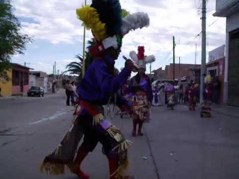 Danza Chicahuales cultura de Aguascalientes procedente de Zacatecas