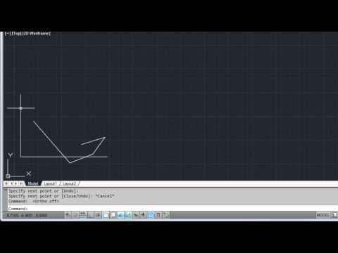 Create and Modify Objects — AutoCAD 2012