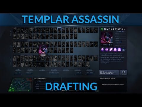 Picking and Countering Mid Lane Templar Assassin | Dota 2 Pro Guide for TA in 7.0 | GameLeap.com