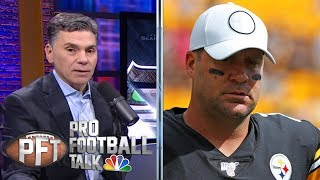 Pittsburgh Steelers could be in trouble without Ben Roethlisberger | Pro Football Talk | NBC Sports