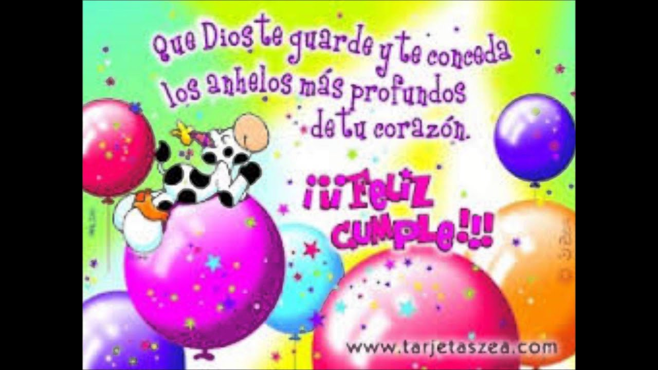 Hasta Feliz Cumpleaños