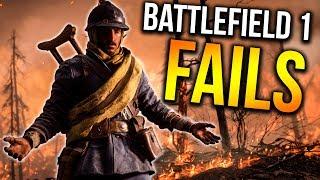 EPIC FAILS, WINS + FUNNY MOMENTS   Battlefield 1