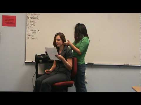 Kaylee and Bonny- Barber Shop Skit