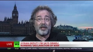 Escobar: Israel gets US's blessing to bomb Syria