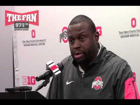 Ohio State Running Backs Coach Tony Alford-Season Wrap Up