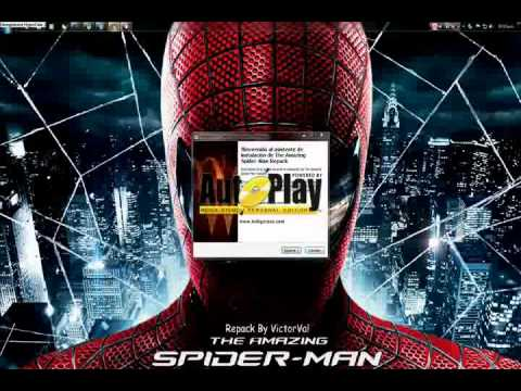 Descargar e instalar the amazing spider-man para pc full en español LOQUENDO 2012
