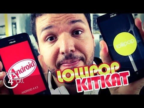 Downgrade Lollipop para kitkat - Zenfone 5 e 6 (Português)