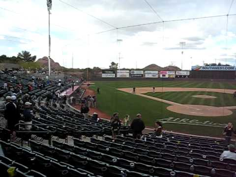Phoenix Municipal Stadium is listed (or ranked) 8 on the list The Coolest Cactus League Spring Training Stadiums