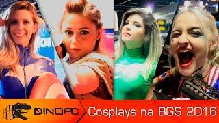 Cosplays na BGS 2016  |  Veja os melhores Cosplays do evento - Brasil Game Show