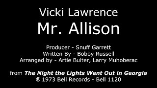 Vicki Lawrence - Mr. Allison