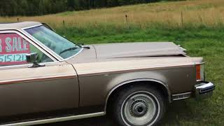 Checking & Test driving a 1980 Lincoln Versailles