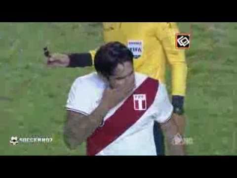 Uruguay VS Peru 2-0 Copa America Semi Final 2011