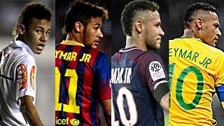 Neymar Jr ●King Of Dribbling Skills● 2009-2017 |HD|