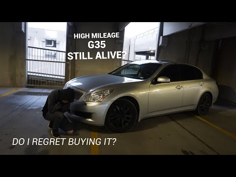 G35 High mileage reliability review! Still good at 140k?