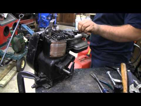 HOMEMADE RADIAL BRIGGS ENGINE (part 1)