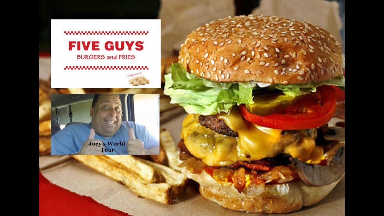 Five Guys Burgers And Fries Hot Dogs Five Guys Burgers Fries