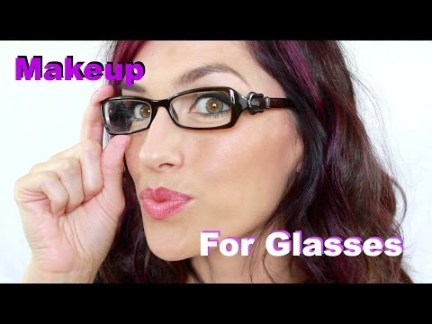5 Tips and Tricks for Wearing Makeup With Glasses