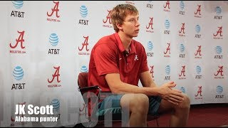Alabama punter JK Scott - Colorado State week