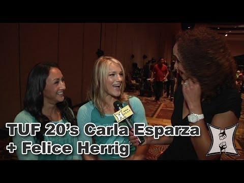 TUF 20s Felice Herrig  Carla Esparza Talk Tension  Targets in the TUF House