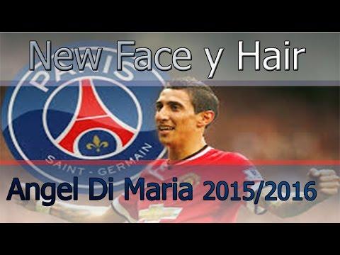 PES 2013 | New Face Y Hair 2015/2016 · Angel Di Maria · Tattoo HD · PSG