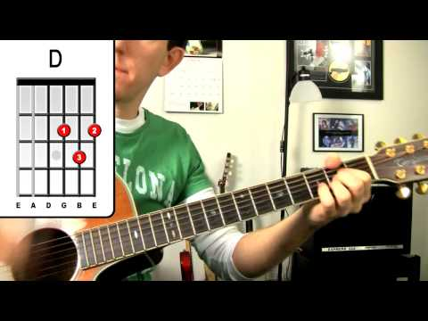 Two Steps Behind ★ Def Leppard Guitar Lesson - How To Play Easy Beginners Acoustic Songs