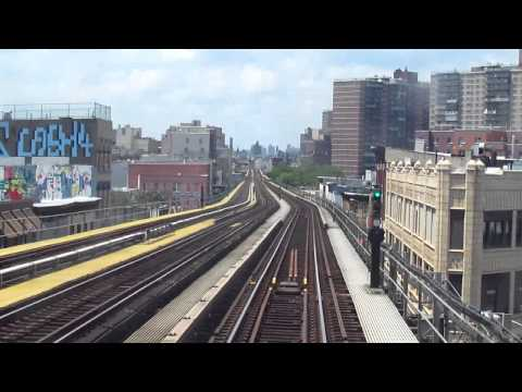 NYC Subway Jamaica-Nassau Line - Jamaica Center to Broad St Local w/ R32s