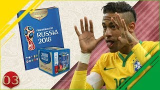 OFFICIAL WORLD CUP RUSSIA 2018 STICKERBOOK COLLECTION EP3 - BACK TO BACK BRAZILIANS!!