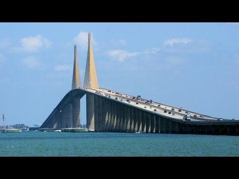 Tampa Bay Bridge Florida Bridge Drive Tampa Bay