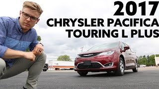 2017 Chrysler Pacifica Touring L Plus | 360 Degree Surround View and UConnect Theater