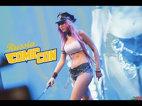 Comic Con Russia 2015 Defile by CosplayLIVE