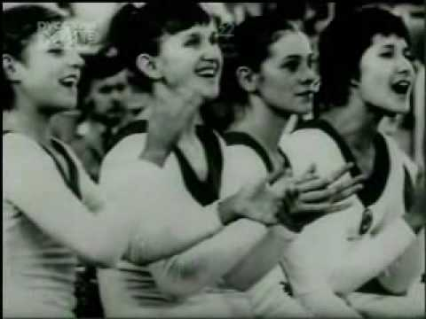 Soviet documentary about the great gymnast Ludmilla Tourischeva. Featuring training scenes and competition clips and some other soviet gymnasts as well. It's in Russian. Originally captured...