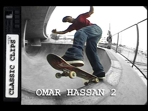 Omar Hassan Skateboarding Classic Clips #232 San Pedro