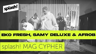 splash! Mag Cypher #26: Eko Fresh, Samy Deluxe & Afrob (Red Bull Soundclash Special)