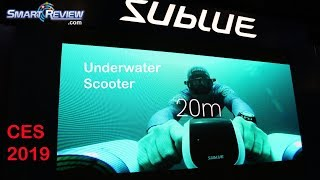 CES 2019 | Sublue Underwater Scooter | Self Powered | SmartReview.com