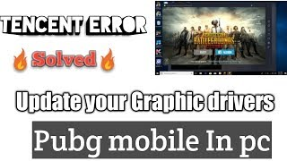 How to update Graphic drivers? |||| PUBG mobile in Tencent Gaming buddy ||||
