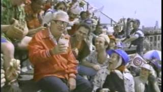 Budweiser Beer Commercial featuring Harry Caray in the Bleachers - 1984
