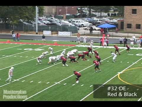 Defensive End Jerry Humphrey #32 Run Stop Highlights
