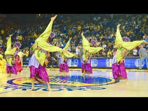 Bhangra Empire @ NBA Halftime Show (Warriors vs. Jazz) 2016