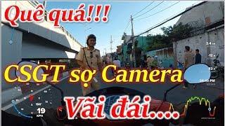 CSGT rất sợ camera hành trình vì bắt lỗi sai | Thanh TN Motovlog