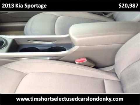 2013 Kia Sportage Used Cars London KY