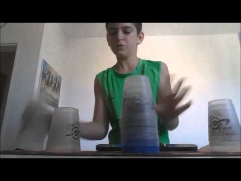 Sport stacking: Top 10 Overall - Stackers Of Israel 2015