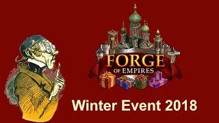 FoEhints: Winter Event 2018 (Dec 3rd) in Forge of Empires